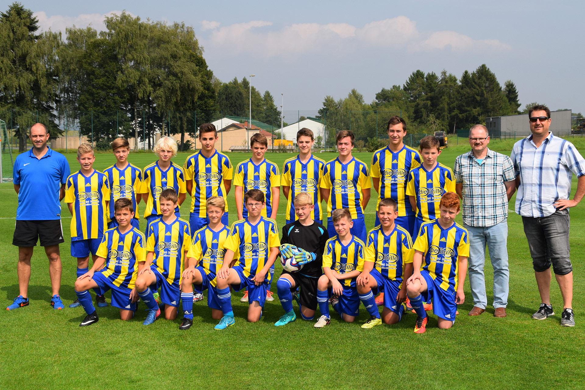 C I Jugend SV Kyllburg Mannschaftsfoto
