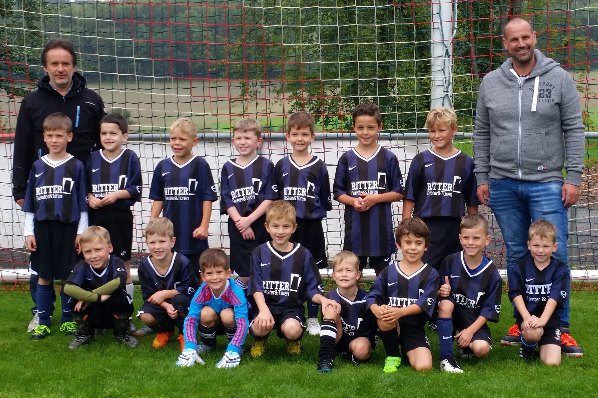 F Jugend SV Kyllburg Mannschaftsfoto