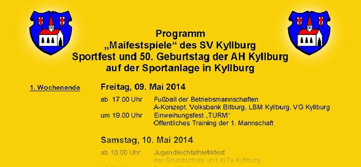 Maifestspiele des SV Kyllburg
