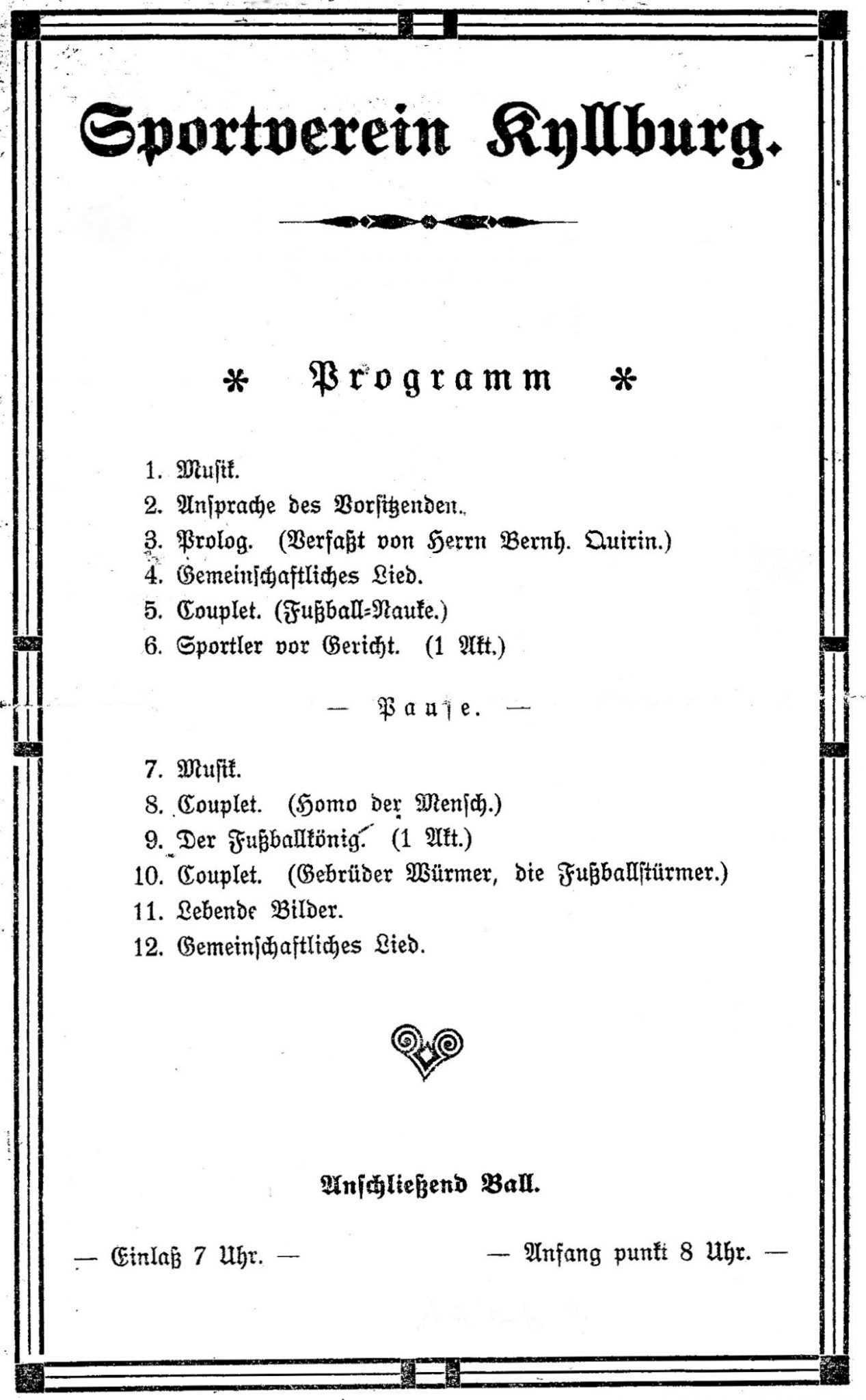 Ziele und Struktur des Vereins damals und heute | Sportverein ...