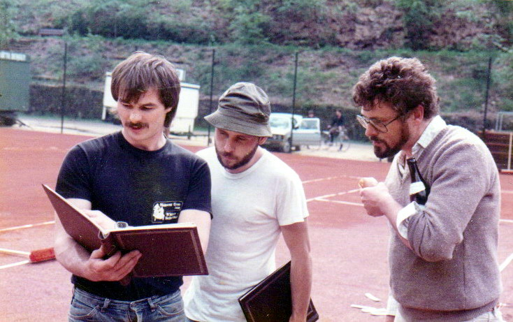 1984.Bau Tennisanlage_14