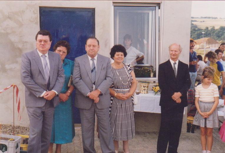 1986.Einweihung Vereinshaus_5