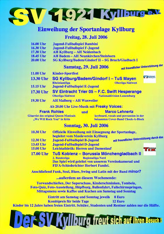 2006_Programm_Einweihung