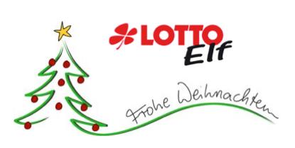Weihnachtsgruß der Lotto-Elf an den SV Kyllburg