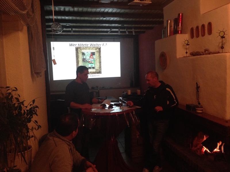 Legendärer AH Bilderabend und Lesung mit Larry Dotter