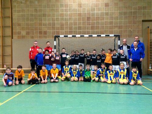Viel Spaß und packende Spiele beim F-Jugend-Freundschafts-Turnier in der Kyllburger Turnhalle