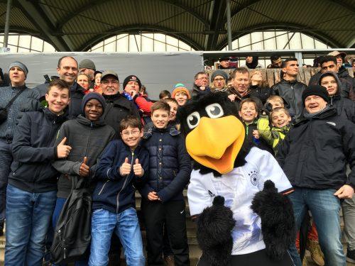 D1: Ausflug zum DFB-Länderspiel U18