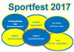 Sportfest vom 02. – 04. Juni 2017