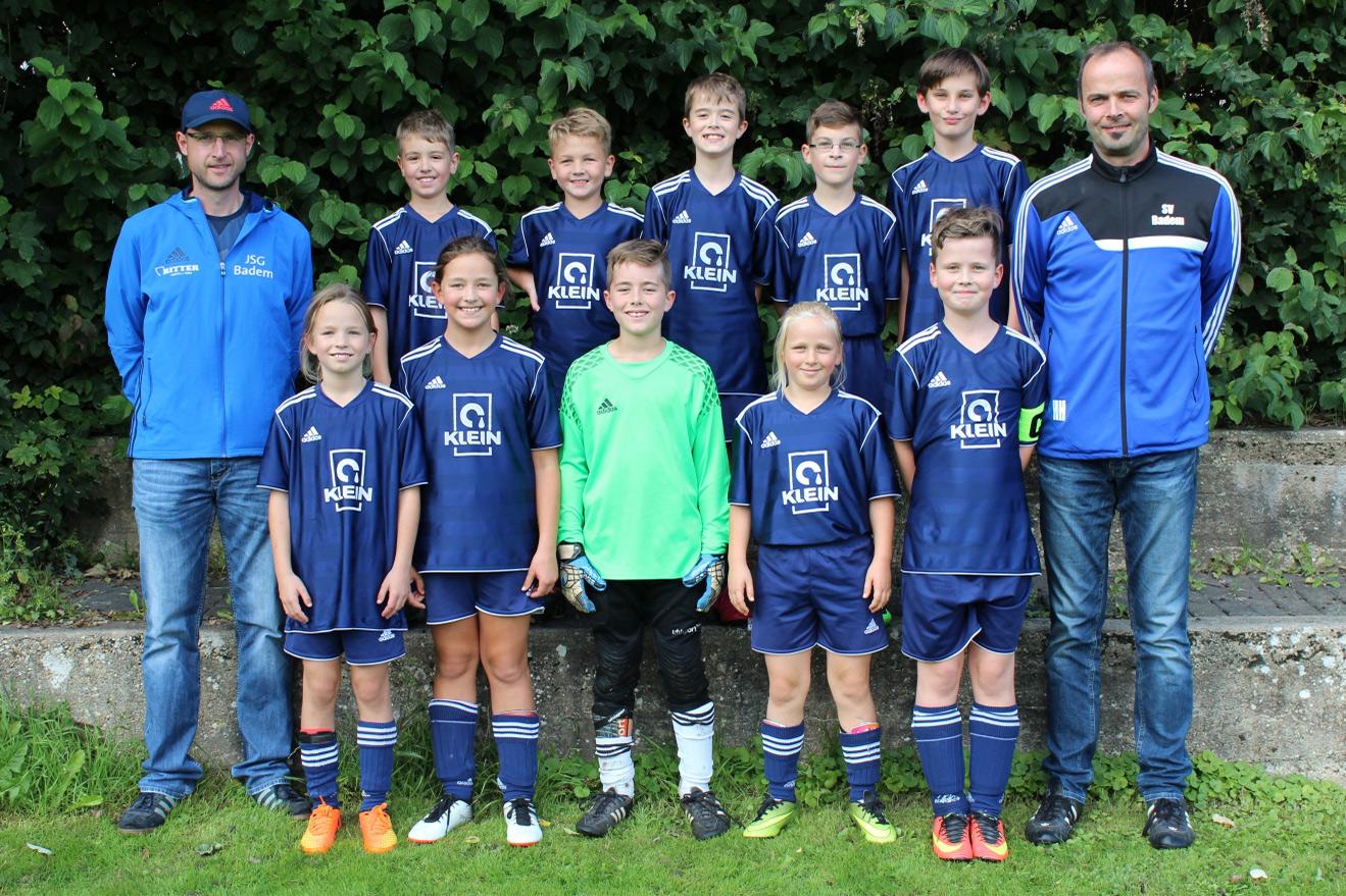 E II Jugend SV Kyllburg Mannschaftsfoto