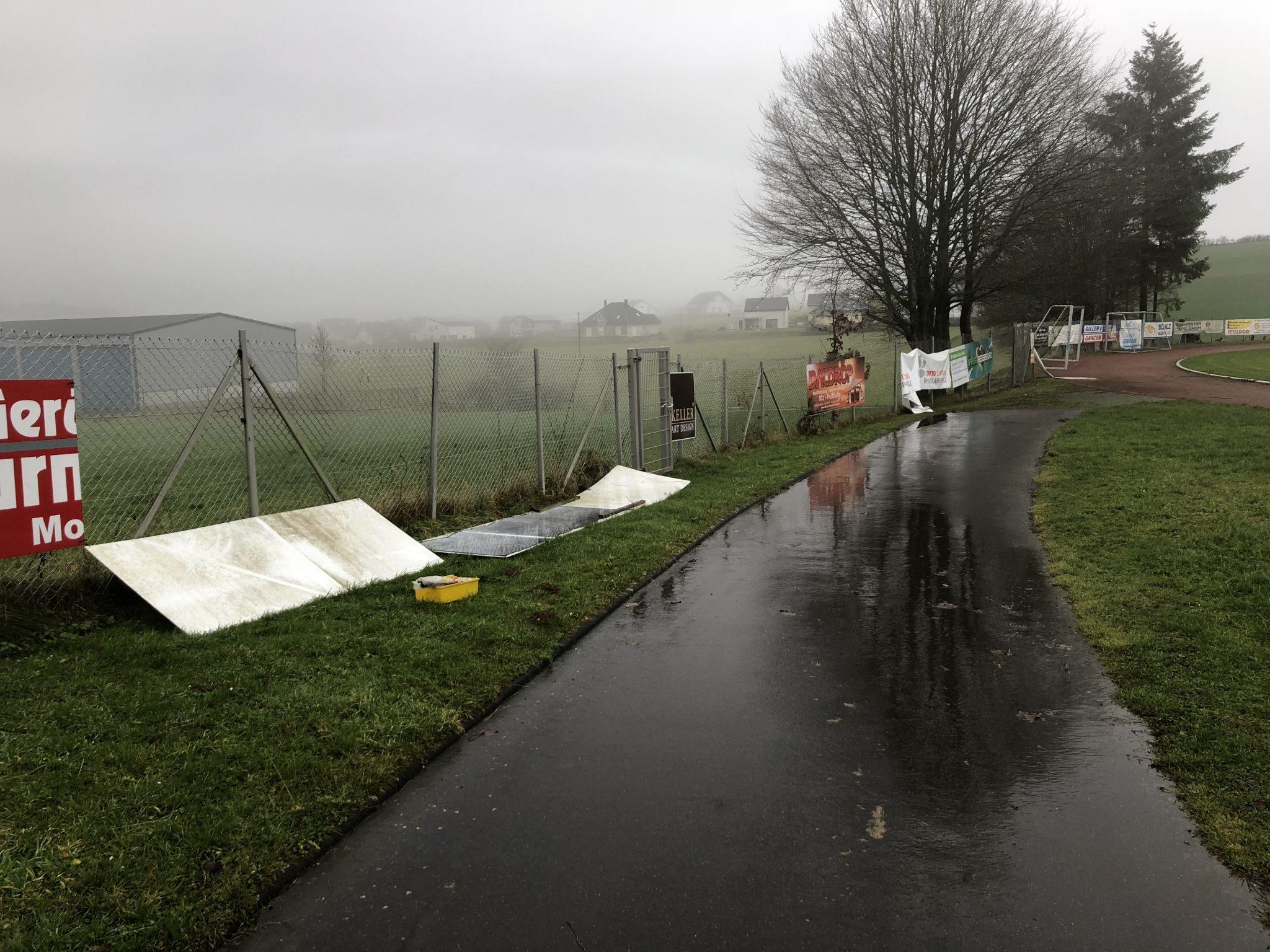 Schäden durch Sturmtief Burglind behoben!