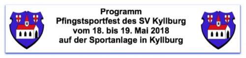 Sportfest 2018 an Pfingsten