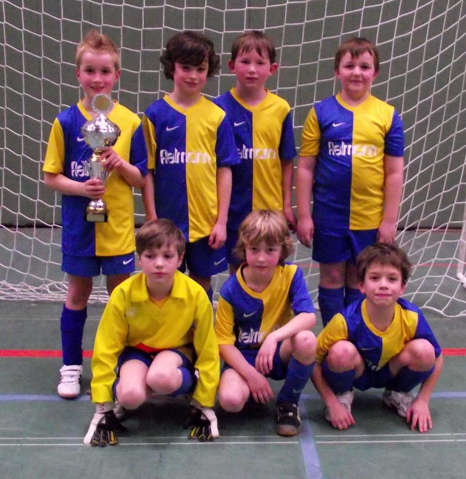 E2-Jugend als Titelverteidiger beim 2. Int. FC Prüm Juniorcup