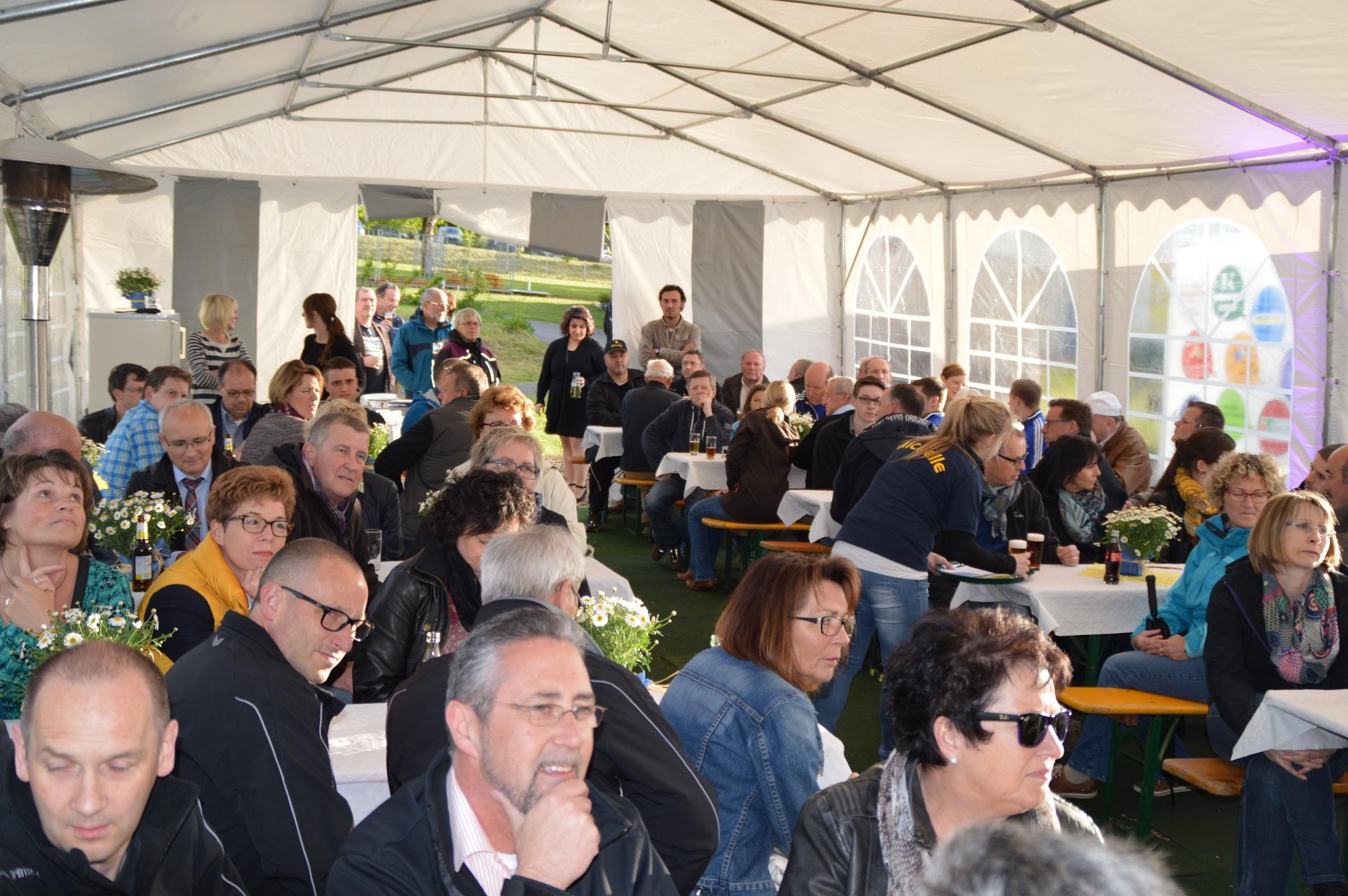 Eröffnung der Maifestspiele mit Helfer- und Sponsorenabend