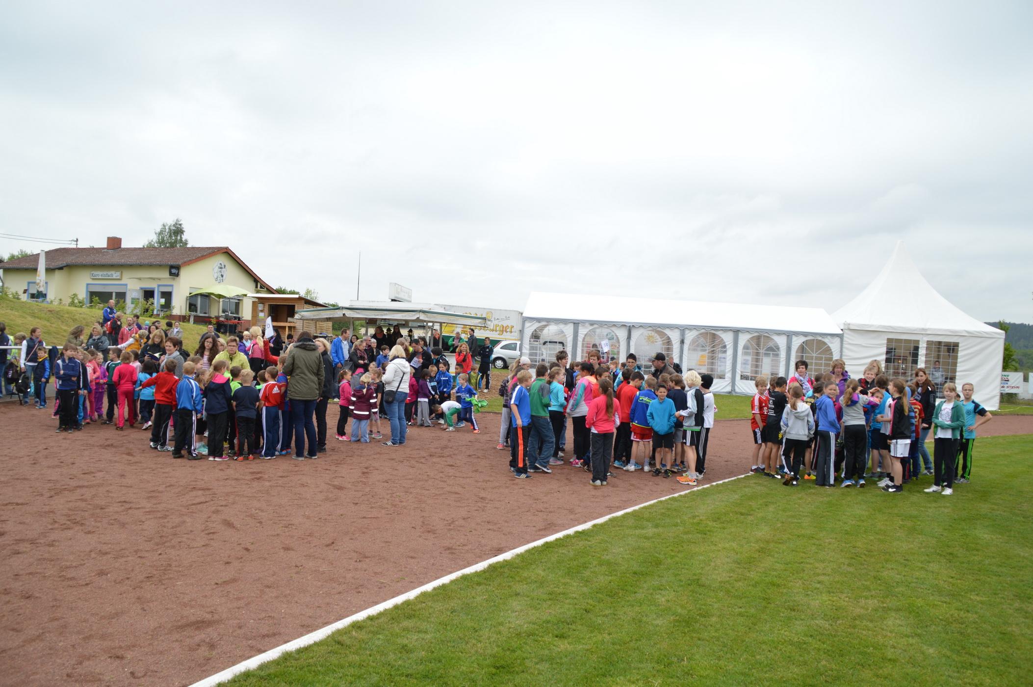 170 Kinder bei Leichtathletikfest in Kyllburg