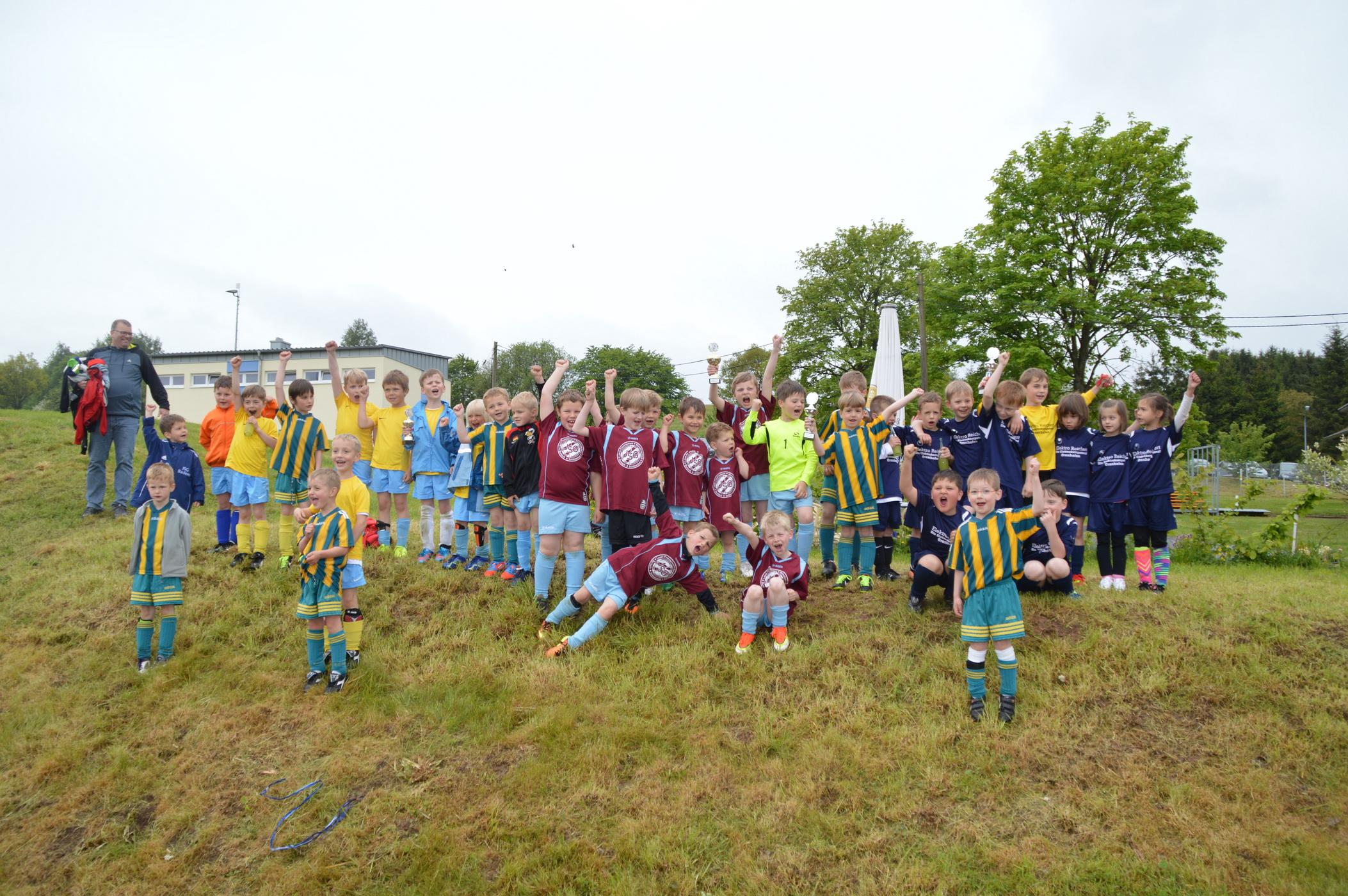 Bambini-Turnier zum Sportfest