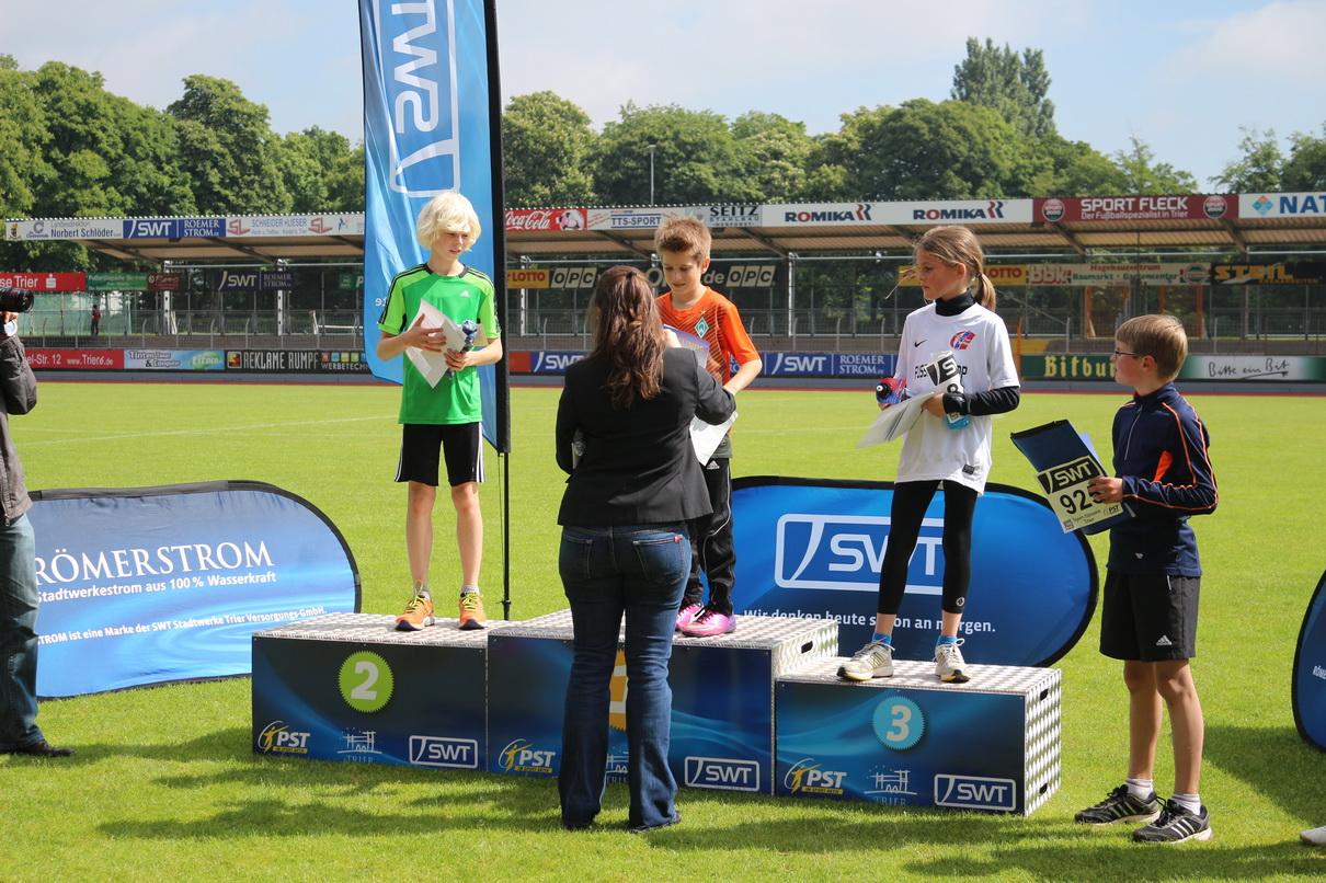 Jonas Steinmetz knapp geschlagen beim SWT-Kids-Cup in Trier