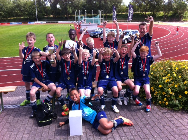 E2: Erfolgreiche Teilnahme am Soccercup in Bitburg