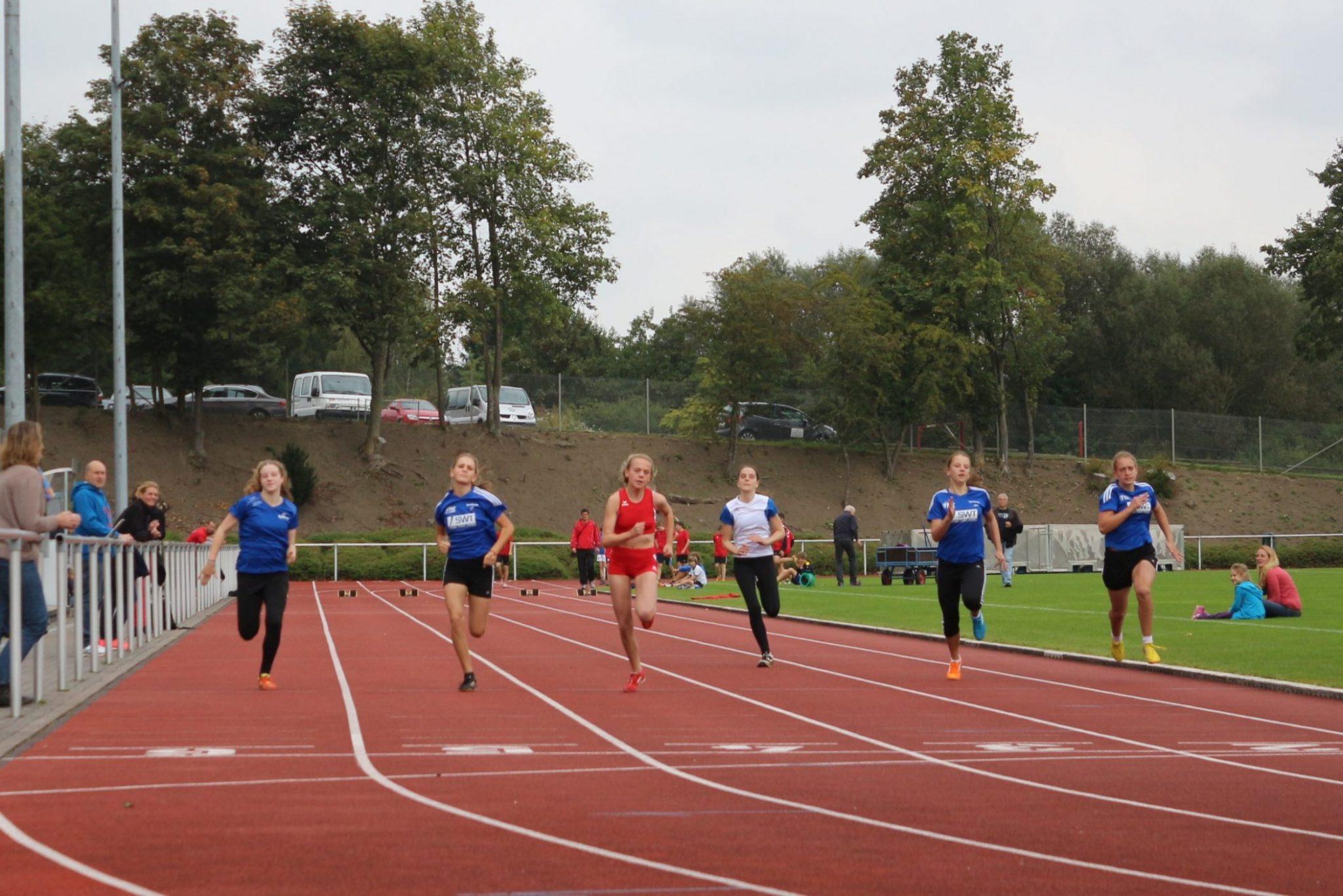 Erfolgreiche Leichtathleten des SV Kyllburg