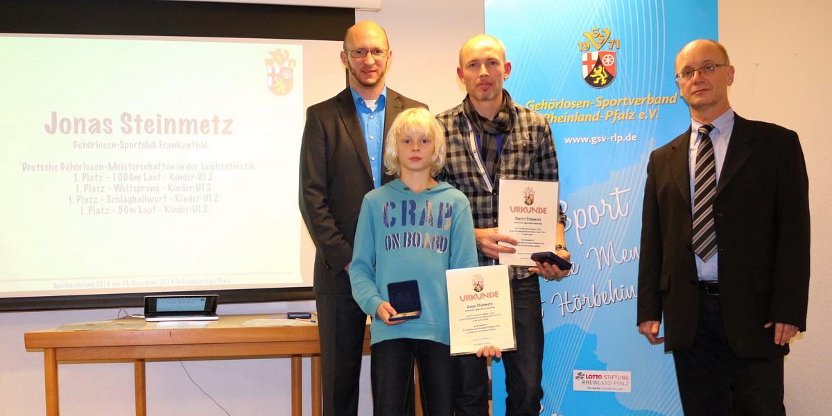 SVK-Mitglieder bei Sportlerehrung des Gehörlosen-Sportverbandes Rheinland – Pfalz (GSV-RLP)