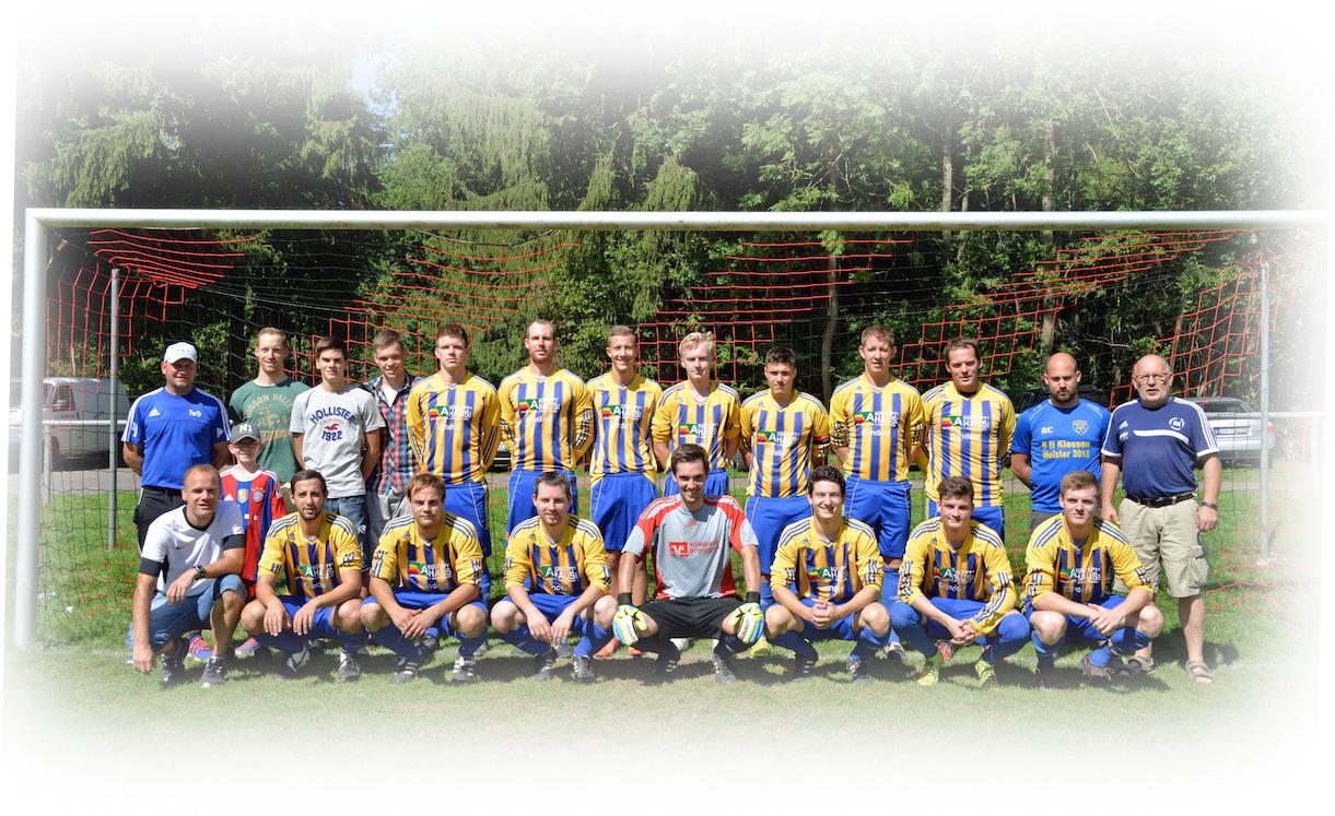Fotos der 2. & 3. Mannschaften vom 30.08.2015