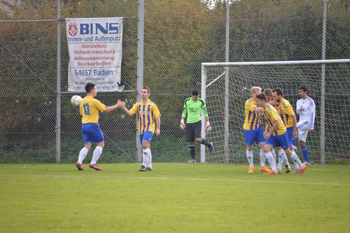 1. Mannschaft: Verdienter Sieg im Derby gegen Schweich