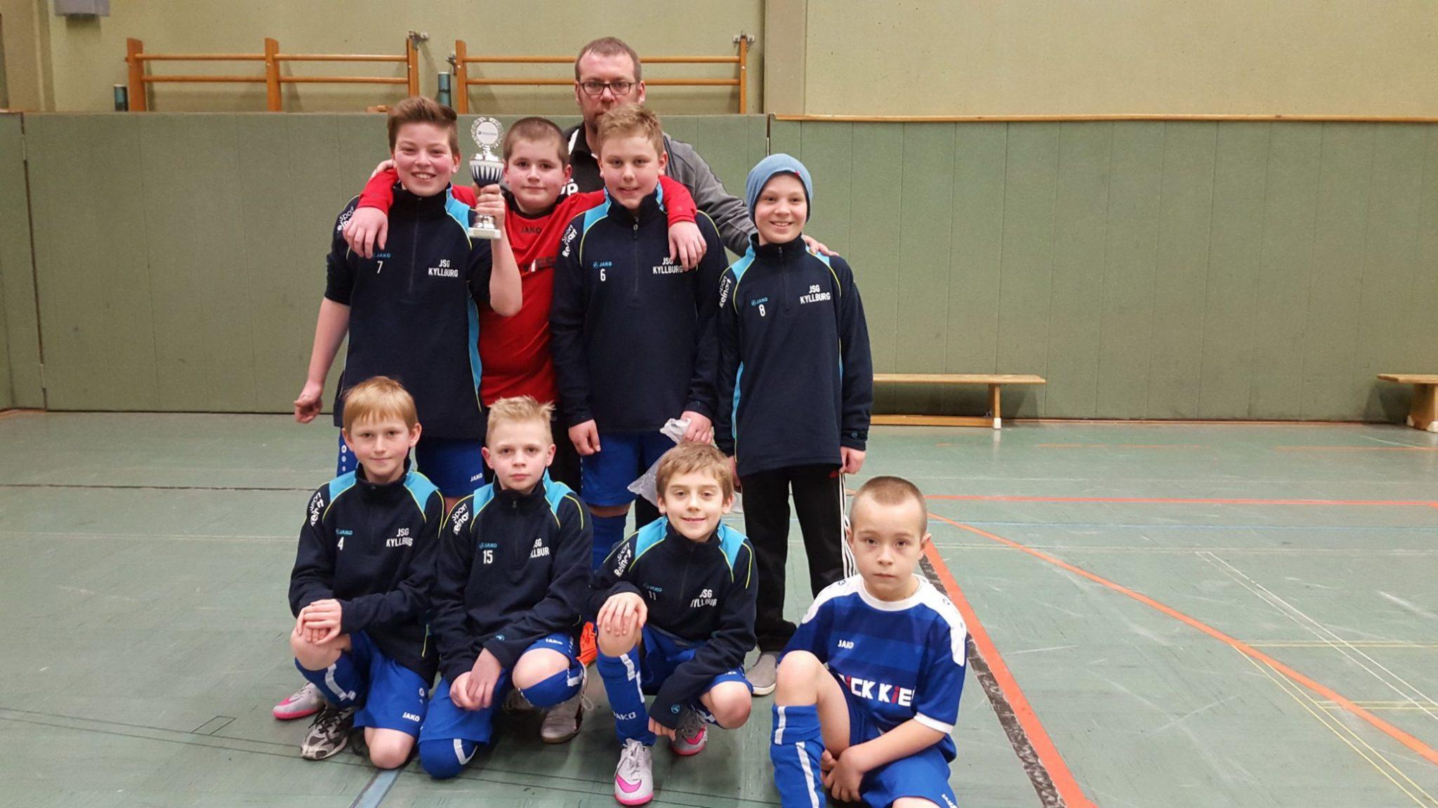 E1: Toller Erfolg für die Jungs der JSG Kyllburg