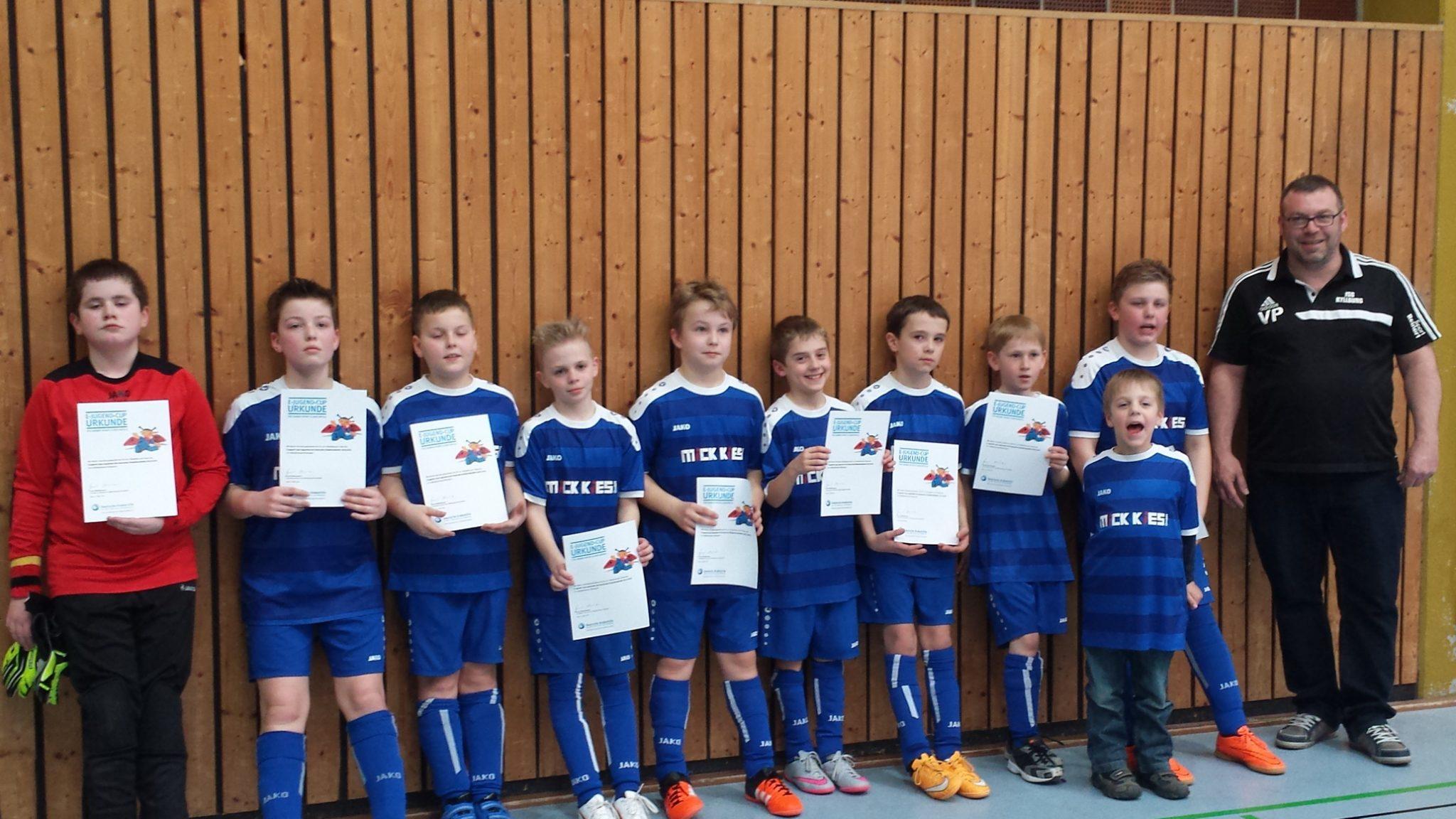E1: Großer Erfolg bis ins Viertelfinale Rheinlandmeisterschaft