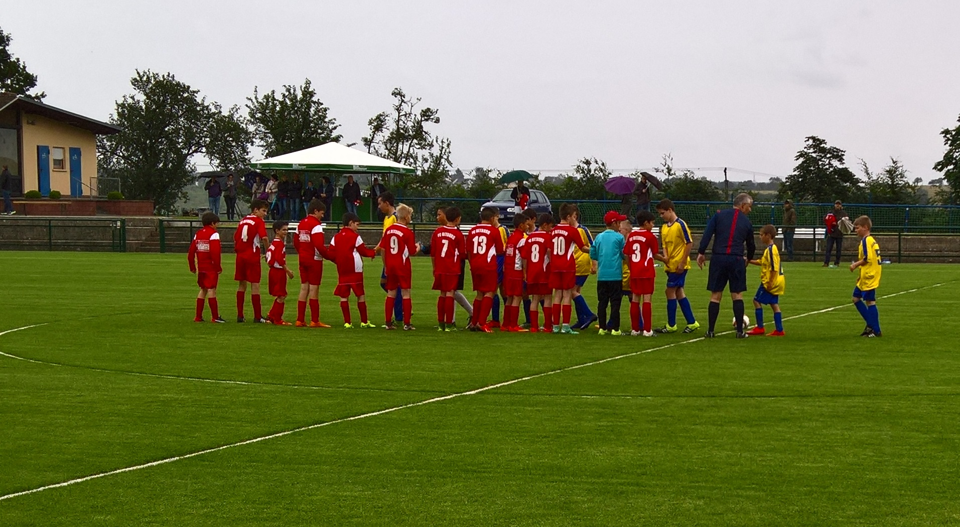 D Jugend verpasst BZL Aufstieg = 4 : 5 gegen Bitburg