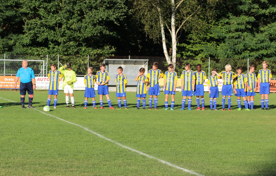 C-Jugend: Gelungener Saisonauftakt im Rheinlandpokal
