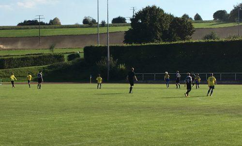 C-Jugend: Spiel in den ersten 10 Minuten verloren !
