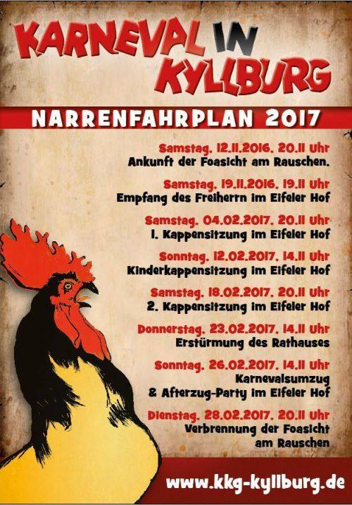 Kyllburger Karnevalisten der KKG mit tollem Programm
