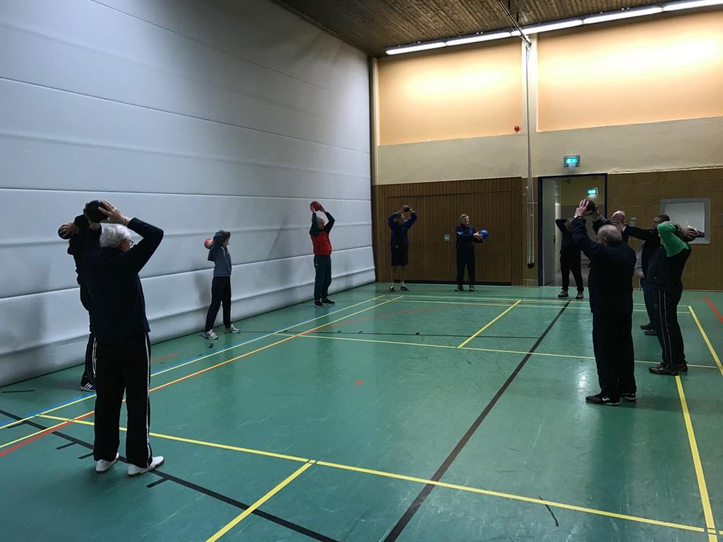 Ballspiele beim Herzsport