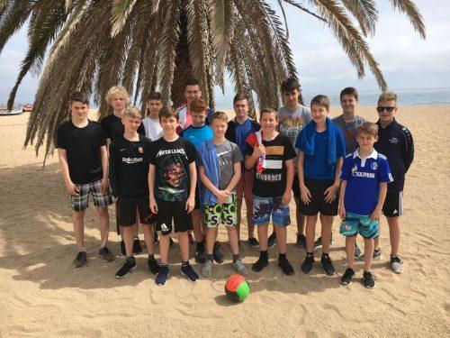 C1 bei der Copa Maresme 2018 in Spanien