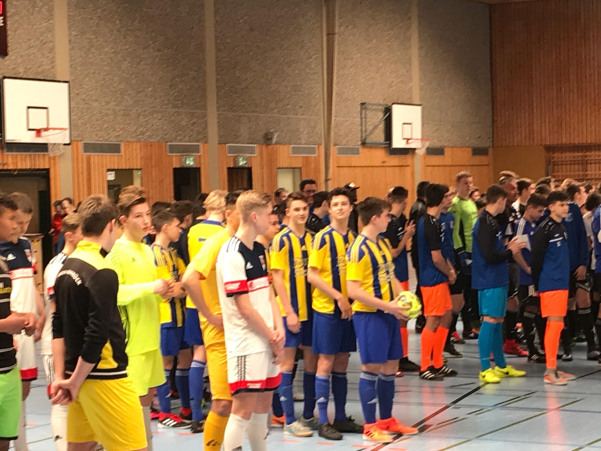 B-Jugend: Hallenrheinlandmeisterschaft