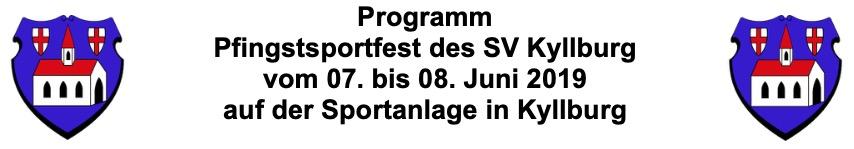 Sportfest an Pfingsten 2019
