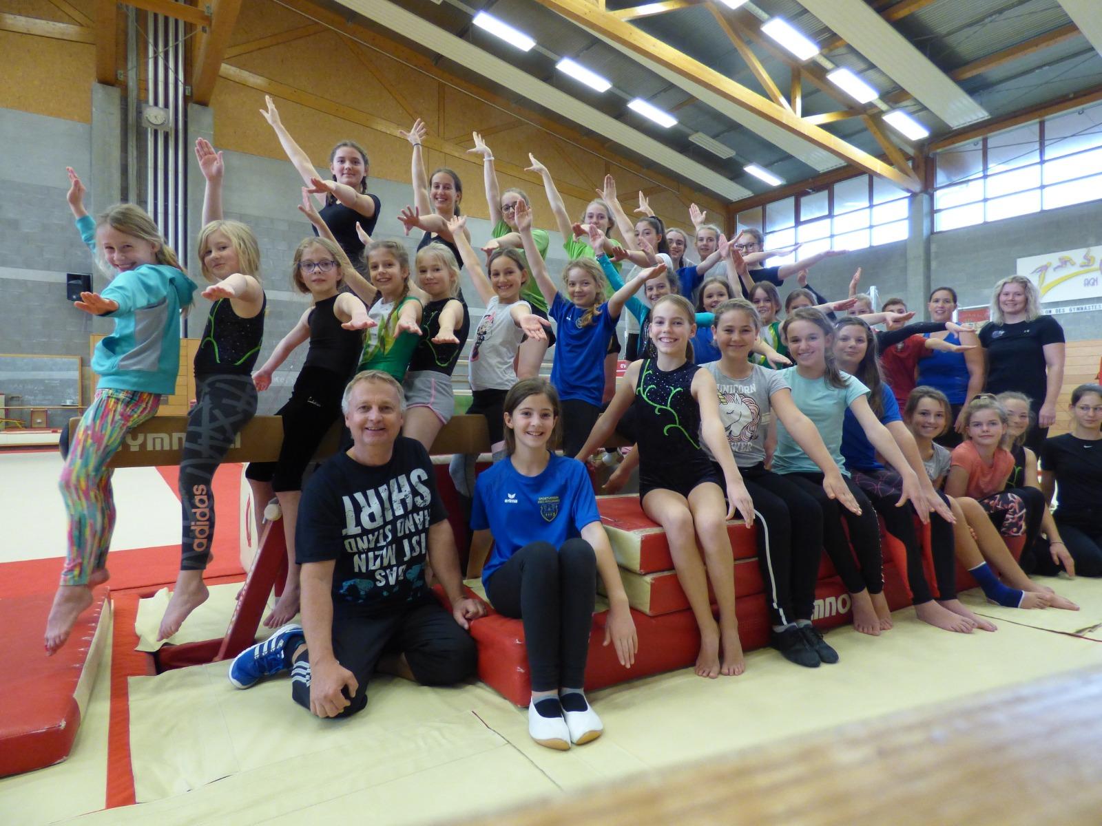 Trainingswochenende der Turnabteilung in Luxemburg