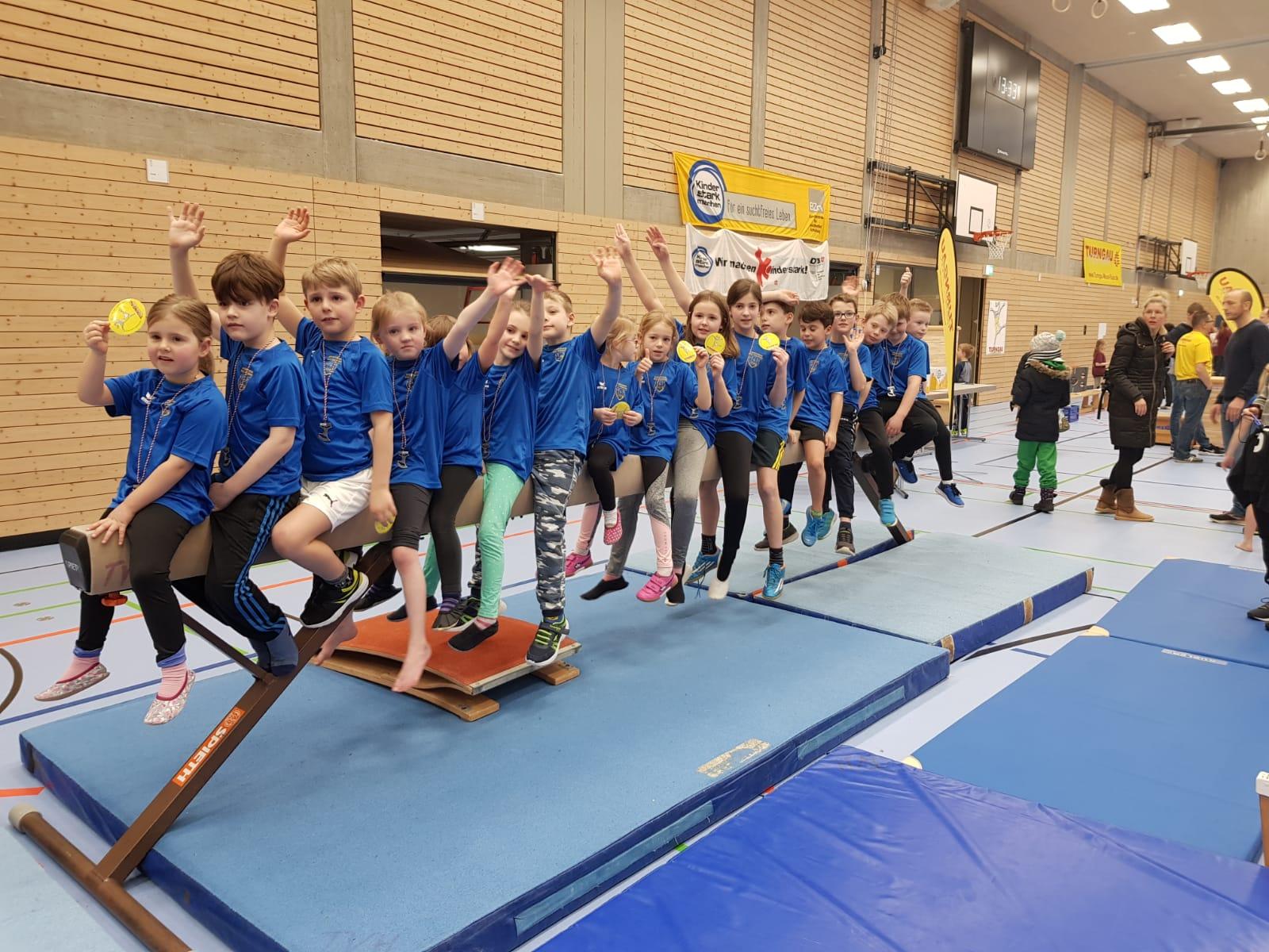 Tolle Leistungen der SVK Kinder beim Turnfest in Hermeskeil