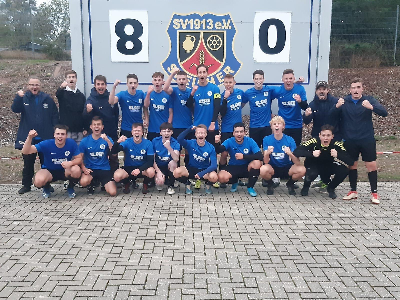 A-Jugend-Bezirksliga: Haushoher Heimsieg !