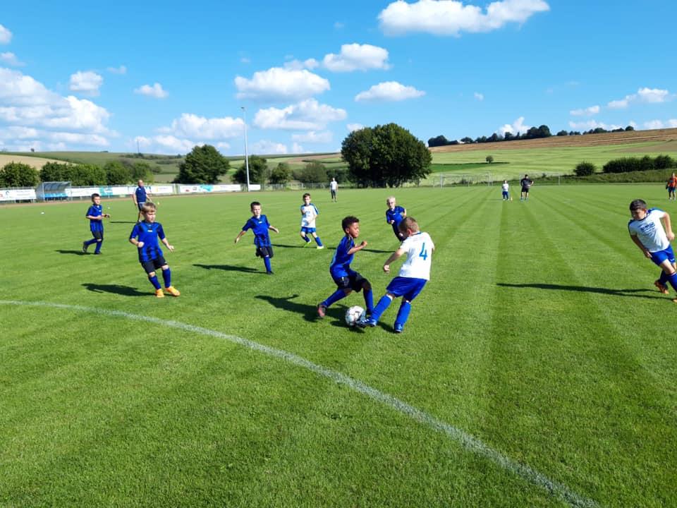 F-Jugend in die neue Saison gestartet