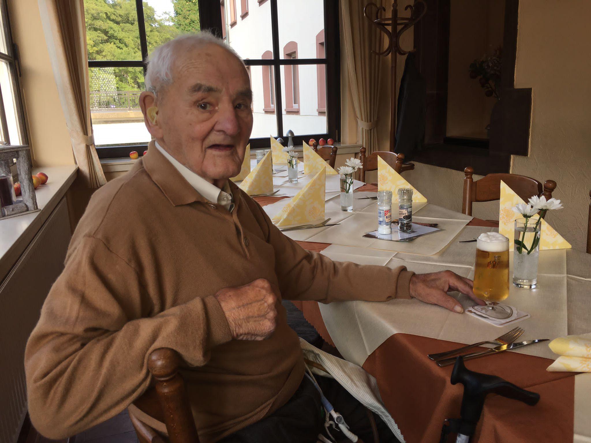 Ältestes SVK-Mitglied feiert 99. Geburtstag